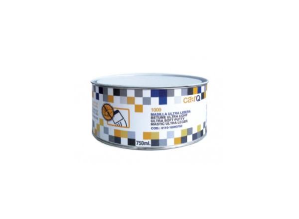 La MASILLA ULTRA LIGERA 1009 de caarQ es una masilla de poliéster, multifuncional y ultra ligera con bajo peso específico y textura muy cremosa. Óptima adhesión sobre chapa cincada y aluminio. Excepcional aplicación, secado y lijado. Acabado muy fino, exenta de poros en capas finas.